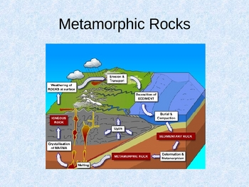 Sedimentary Metamorphic & Igneous Rocks (classification) PPT