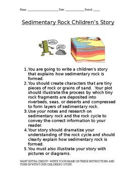 Sedimentary Rock Children's Story