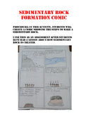 Sedimentary Rock Formation Comic