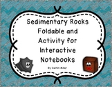 Sedimentary Rock Formation Foldable and Activity for Inter
