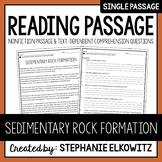 Sedimentary Rock Formation Reading Passage