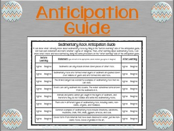 Sedimentary Rock Lesson - ppt, assessment, & experiment