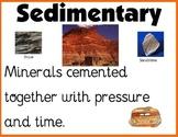 Sedimentary Rock Poster