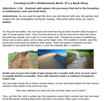 Sedimentary Rock Story