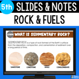 Sedimentary Rock and Fossil Fuel Formation Slides & Notes