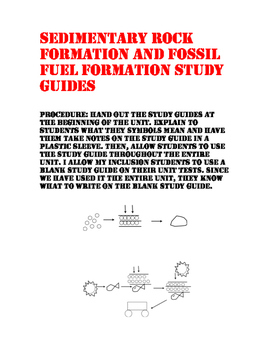 fossil fuels and sedimentary rocks teaching resources teachers pay rh teacherspayteachers com Metamorphic Rocks Sedimentary Rocks and Their Names