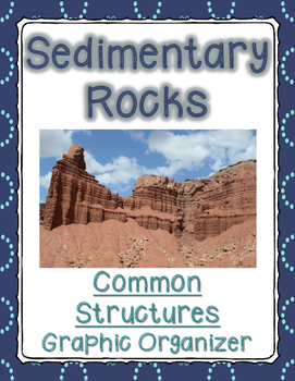 Sedimentary Rocks: Common Structures Graphic Organizer (Interactive Notebook)