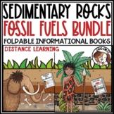 Sedimentary Rocks Fossil Fuels Bundle TEKS 4.7C, 5.3B, 5.7A, 5.7B