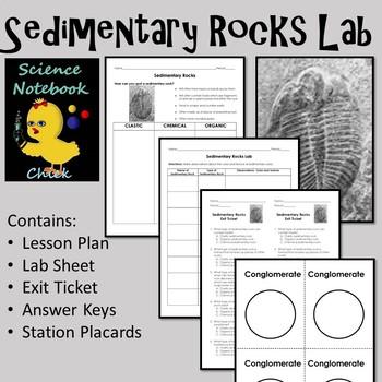 Sedimentary Rocks Lab