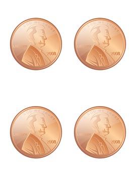 See A Penny Rhythm Match Game