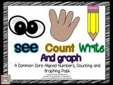 See Count Graph!  Math & Graphing Creation!