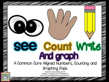 See Count Graph!  A Common Core Math & Graphing Creation!