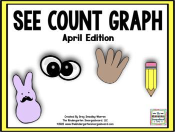 See Count Graph: April Edition!  A Common Core Math & Grap