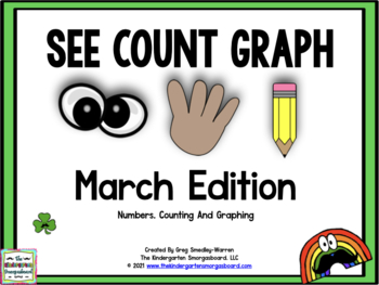 See Count Graph:  March Edition!  A Common Core Math & Graphing Creation!