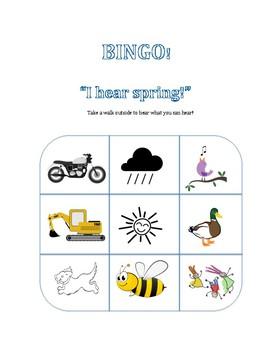 See-Hear Bingo