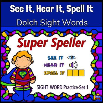 See IT, Hear IT, Spell IT (Promethean Flipchart)