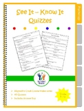 See It Know It Crash Course Psychology Quizzes