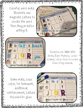 See It, Read It, Write It- R-Controlled Vowels {Word Work Centers &  Printables}