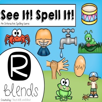 See It! Spell It! (R blends)