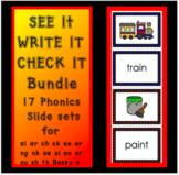 See It Write It Check It - Phonics Slides