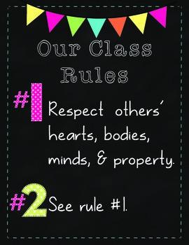 See Rule #1:  Respect {B2S FREEBIE}