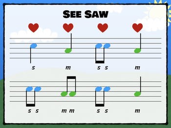 See Saw - A Song for (ta-titi) (high-low) (so-mi)
