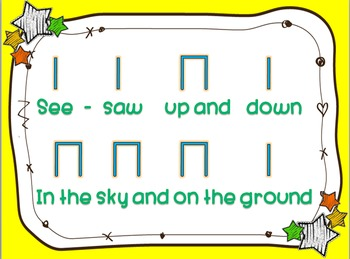 See Saw Up and Down - a song to teach so and mi (detailed version)