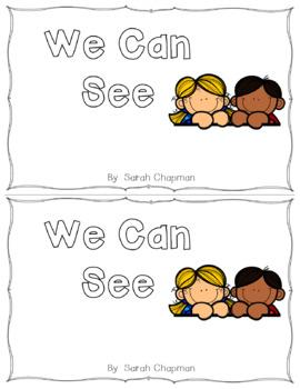 See Sight Word Books Bundle