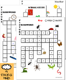 See & Spell Set (includes 3 Picture Crosswords)