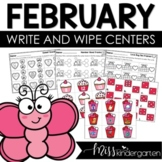 Math and Literacy Centers {February}