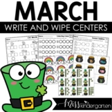Math and Literacy Centers {March}
