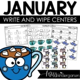 January Centers for Kindergarten