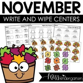 See & Stamp or See & Write {November}