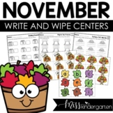 Math and Literacy Centers {November}