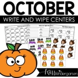 Math and Literacy Centers {October}