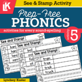 See & Stamp | Prep-Free Phonics | Distance Learning