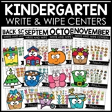 Math and Literacy Centers for Kindergarten