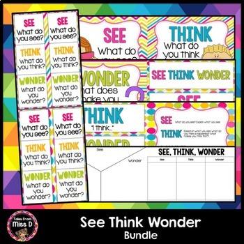 See Think Wonder Bundle