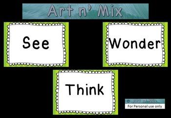 See Think Wonder Posters