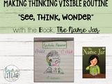 See, Think, Wonder Reading Lesson
