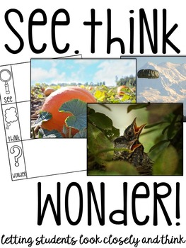 See Think & Wonder! (Science, Social Studies, Writing & More)