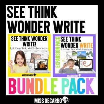 See Think Wonder Write BUNDLE PACK Morning Work