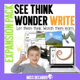 See Think Wonder Write EXPANSION PACK Morning Work Digital