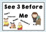 See Three Before Me Poster