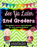 End of the Year Activities - 2nd Grade - Distance Learning