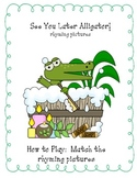 See You Later Alligator-rhyming words