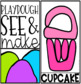 See and Make {Playdough Task Cards}