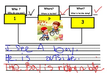 See and Write Activites- WH Questions