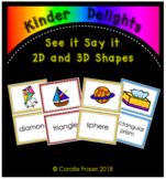 See it Say it - 2D and 3D Shapes