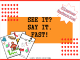 See it? Say it. Fast!: Phonological Process Game- Cluster Reduction (S-blends)
